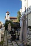 Iarda della villa Pinciana dell'hotel Immagini Stock