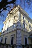 Iarda della villa Pinciana dell'hotel Immagine Stock