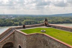 Iarda interna del castello a Bratislava, Slovacchia Fotografia Stock Libera da Diritti