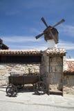 Iarda nel villaggio Fotografia Stock Libera da Diritti