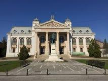 Iasi国家戏院(罗马尼亚) 图库摄影