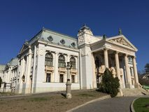 Iasi国家戏院(罗马尼亚) 免版税库存照片