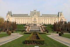 劳动人民文化宫在Iasi,罗马尼亚 库存照片
