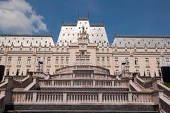 劳动人民文化宫在Iasi (罗马尼亚) 库存照片