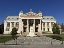 Iasi National Theatre (Romania) Stock Photography