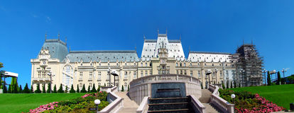 Iasi palace of culture Royalty Free Stock Images