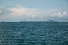 Iasland nel mare Fotografia Stock