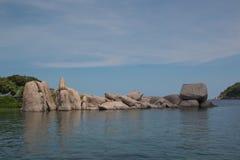 Iasland nel mare Immagini Stock