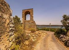 Iasos-Antiken-Stadt Milas die Türkei stockbilder