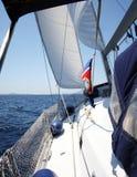 Iate de Sailling Imagem de Stock Royalty Free