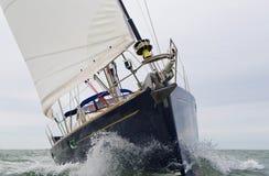 Iate do barco de navigação Imagens de Stock Royalty Free