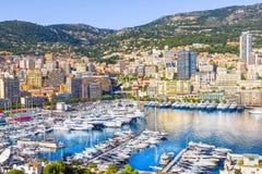 Iate em Monaco fotografia de stock