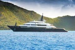 Iate luxuoso Imagens de Stock Royalty Free