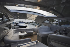 Iate luxuoso Alfamarine 60 ' Foto de Stock Royalty Free