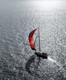 Iate no mar Imagem de Stock Royalty Free