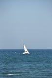 Iate no oceano Fotografia de Stock