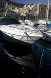 Iate no porto Imagem de Stock Royalty Free