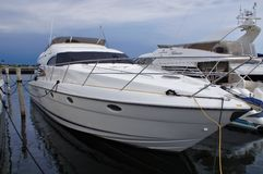 Iate no porto de Dragør Fotografia de Stock Royalty Free