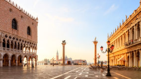 Piazza San Marco (Square of St. Markus) stock image
