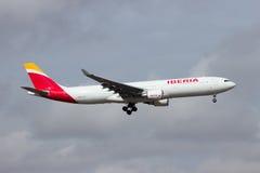 Ibéria Airbus Imagem de Stock Royalty Free