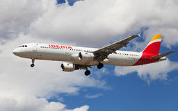 Ibérie Airbus A321 Images stock