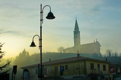 Ib la niebla Fotos de archivo