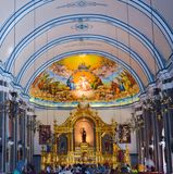 Ibaan, Batangas, Philippines Church stock image