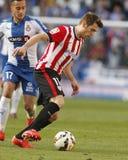 Ibai Gómez do clube atlético Bilbao Fotos de Stock Royalty Free