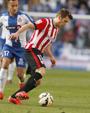Ibai Gomez av den idrotts- klubban Bilbao Royaltyfria Foton