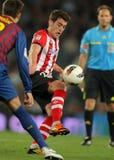 Ibai Gomez de Bilbao sportif Images libres de droits