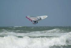 Iballa Ruano Moreno at PWA Surf Cup Sylt 2009 royalty free stock photography