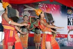 iban的舞蹈 库存照片