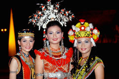 Iban People Stock Photography