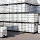 Ibc-Behälter lizenzfreie stockbilder