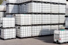 Ibc container Royalty Free Stock Photography