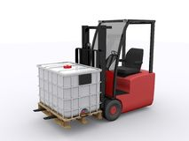 Ibc container Stock Photo