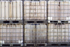 IBC containers Royalty Free Stock Photography