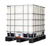 IBC-Plastikbehälter lizenzfreie stockfotos