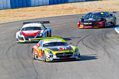 Iber GT Championship 2011 Royalty Free Stock Image