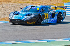 Iber GT Championship 2011 Royalty Free Stock Photo