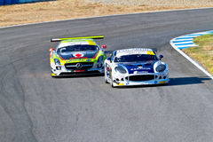 Iber GT Championship 2011 Royalty Free Stock Photography
