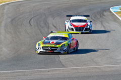 Iber GT Championship 2011 Royalty Free Stock Images