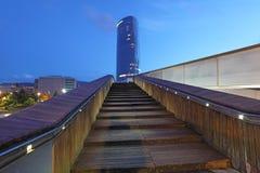 IBERDROLA skyscraper in Bilbao, Spain Stock Photography
