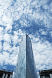 Iberdrola tower Bilbao. Royalty Free Stock Photos