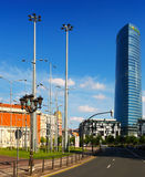 Iberdrola Tower in Bilbao Royalty Free Stock Photography