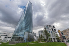 Iberdrola tower in Bilbao Stock Photography