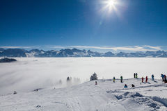 IBERGEREGG, SCHWYZ, SWITZERLAND Royalty Free Stock Images