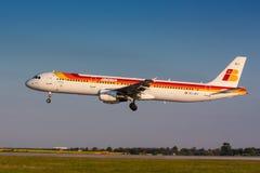 A321 Iberia Imagenes de archivo