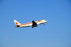 Iberia A320 Arkivfoton