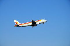 Iberia A320. Stock Photos